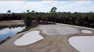 Regrassing at Olde Florida Golf Club