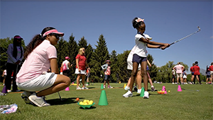 Growing the game of golf at the Solheim Cup