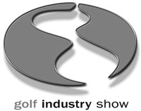 Golf Industry Show black/white logo