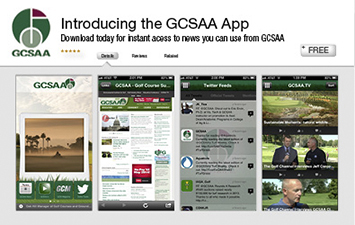 GCSAA - Golf Course Superintendents Association of America